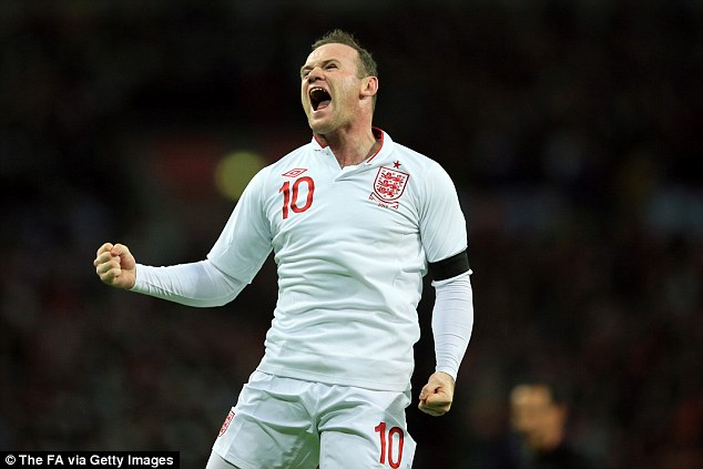 Carrying our hopes: Wayne Rooney should always be on England's teamsheet, according to Barnes