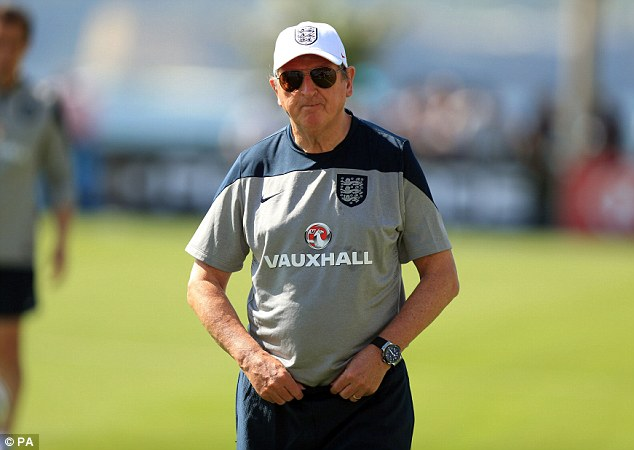 Man with a plan: Roy Hodgson must decide whether to cast aside England's usual conservatism and unleash the Young Lions during the World Cup in Brazil