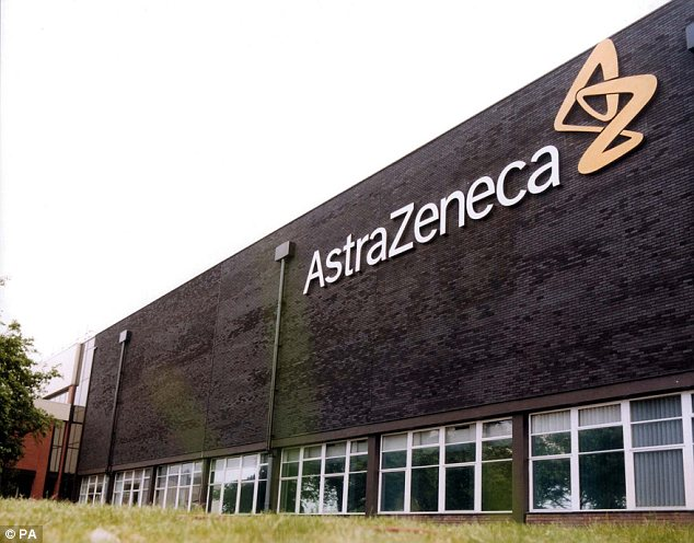 Rejection: Britain's second-biggest pharmaceutical company has only recently seen off a £64billion takeover approach from US rival Pfizer