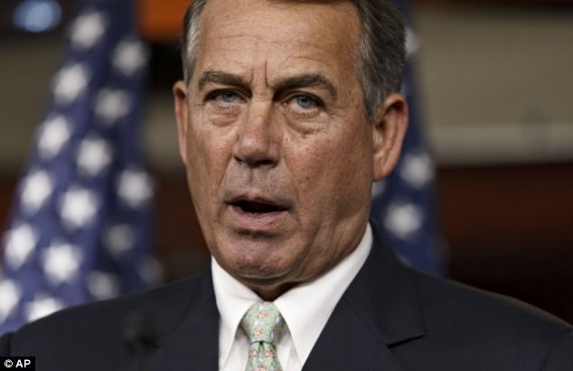 House Speaker John Boehner, R-Ohio, has accused the president of 'taking a nap' while conditions worsened in Iraq
