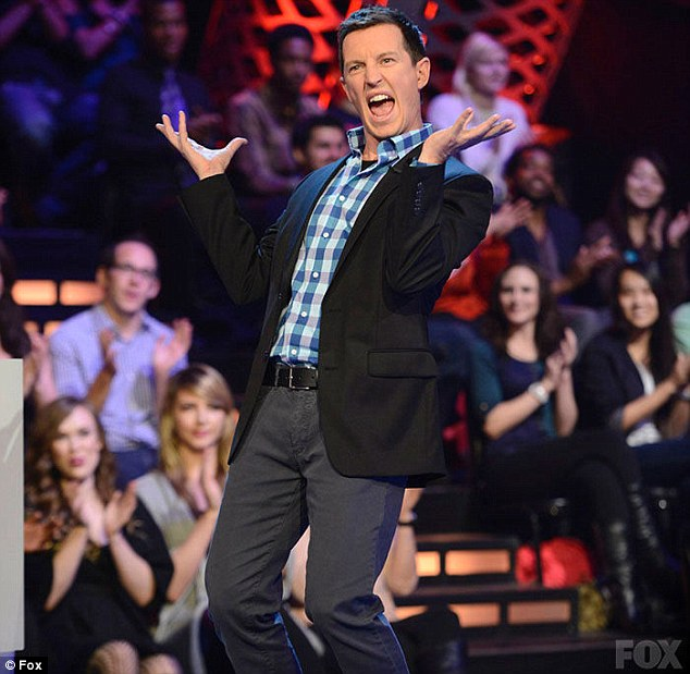 Axed: Rove McManus's new US series  Riot has been dropped by its network Fox following poor viewer ratings