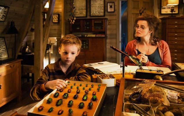 Eccentric: Kyle Catlett and Helena Bonham Carter