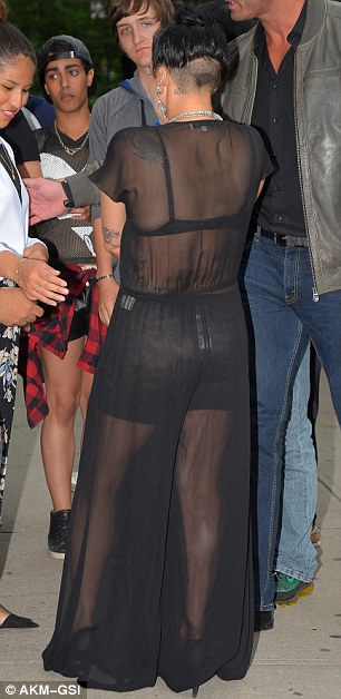 Short hair, don't care: Gaga debuted her newly shaved off patch on the back of her head on Thursday