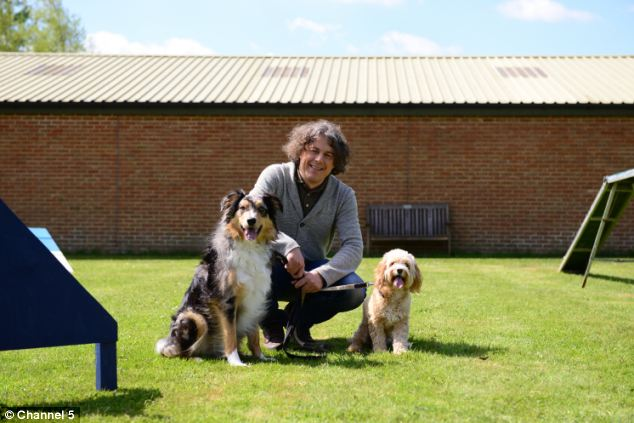 New project: Alan is the voice of The Dog Rescuers, a new documentary series about the sterling work done by RSPCA officers who save animals from cruel homes