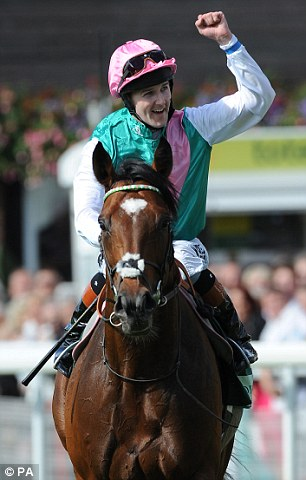 The perfect horse: Prince Khalid ibn Abdullah's horse Frankel, now six, retired unbeaten in 2012