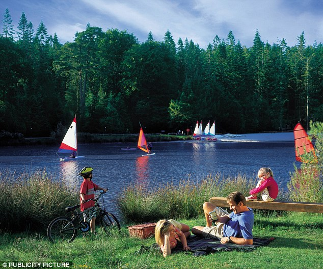 Expansion: The new Center Parcs at Woburn Forest