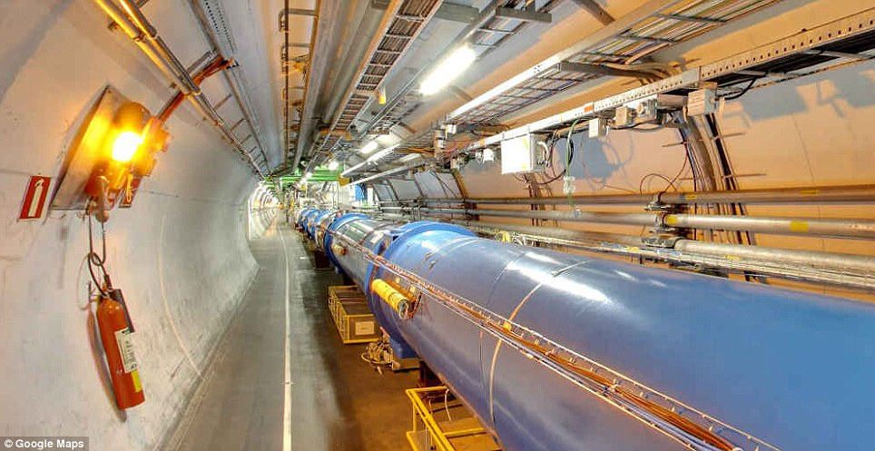 Access all areas: You can even visit the world's largest particle physics laboratory in Geneva