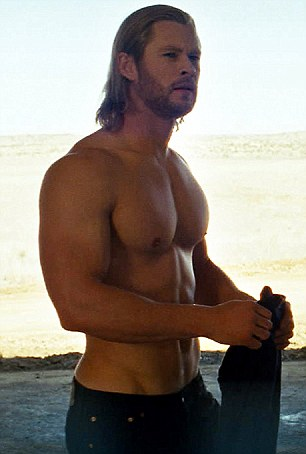 Flashback fame: Chris Hemsworth was a Home And Away star back in 2005, but become an A-Lister after 2011's superhero blockbuster Thor