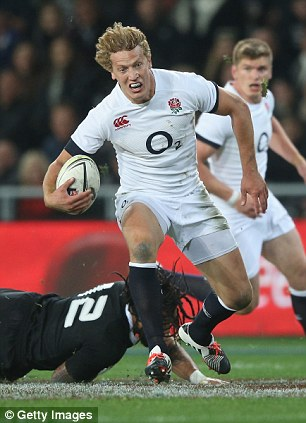 Another blow: England's other starting centre Billy Twelvetrees is also in doubt for the third Test