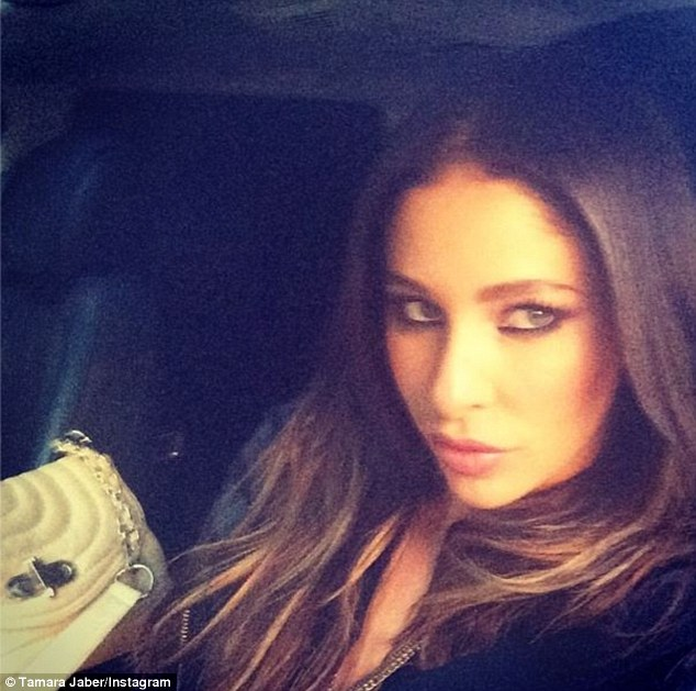 Hitting out: Tamara took to Instagram to hit back at her ex husband Kyle Sandilands girlfriend Imogen Anthony
