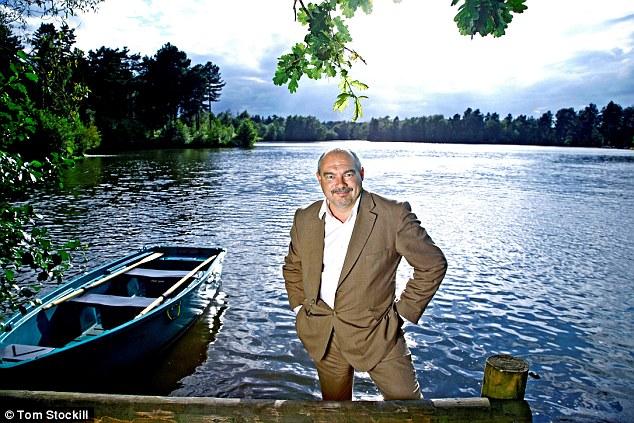 Buoyant: Center Parcs boss Martin Dalby