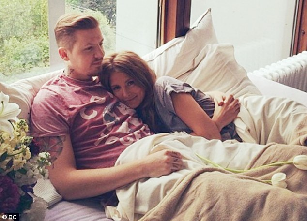 Professor Green has only been married to Millie for nine months but he's already going to great lengths to keep her out of the 'man cave' at their new home