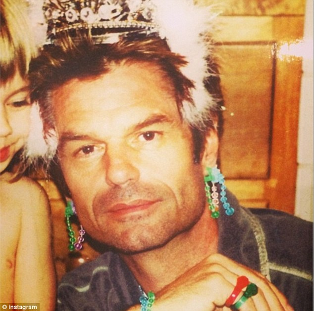 'To all the dads who would do anything for their kids': Lisa Rinna sent love to her husband Harry Hamlin