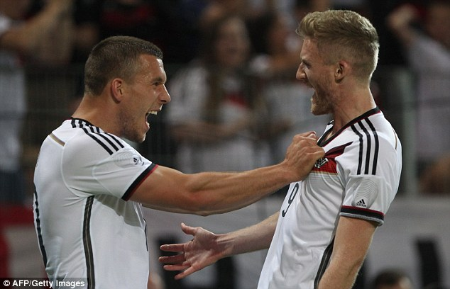 Start: Germany's World Cup campaign gets underway against Portugal on Monday