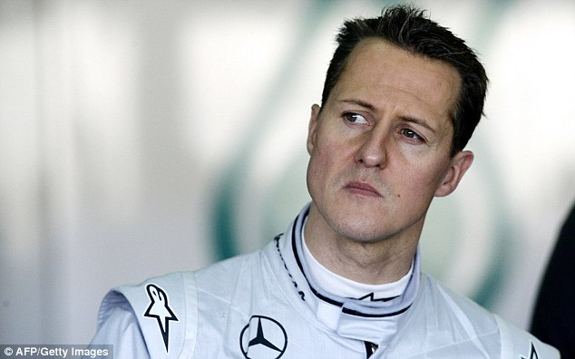 Out: Schumacher is out of his coma and has left intensive care after his horror ski crash in December