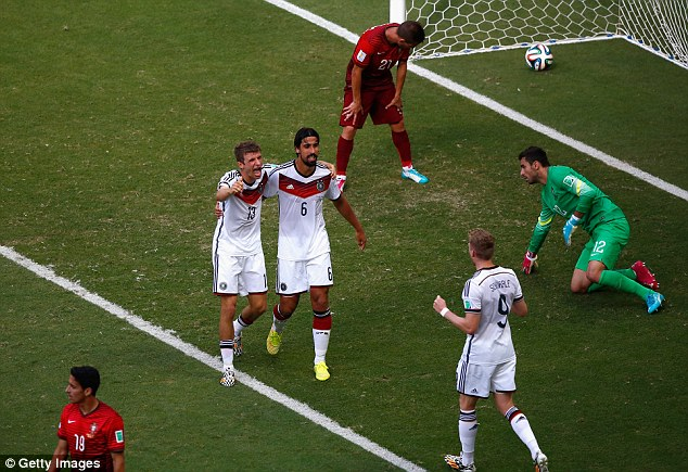 The magoc number: Thomas Muller completes his hat-trcik on his 30th international appearance