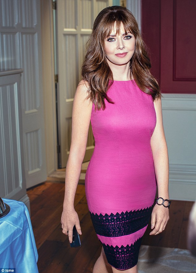 How does she do it? Despite being over fifty, Carol looks younger than ever. Her secret? A few sessions with a personal trainer and a simple beauty regime (pink shift dress, £39, bracelet, £25)