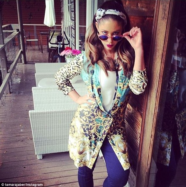 Claws out! Stylish 30-year-old Tamara, who is launching her own clothing line, clearly ruffled Imogen's feathers