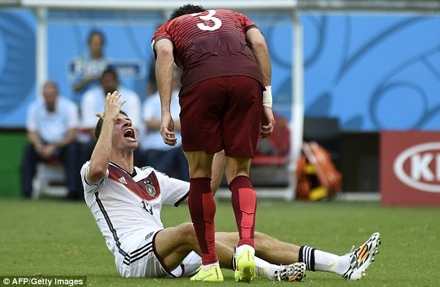 Argument: Pepe has a go at Muller following the incident
