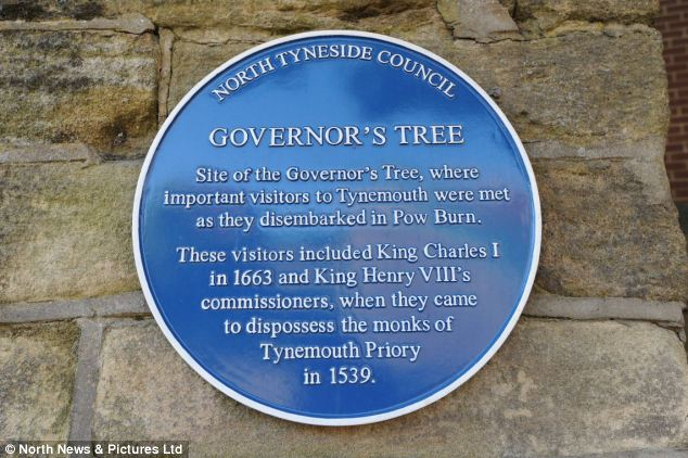 Can you spot the mistake? North Tyneside Council made an error when it installed this plaque