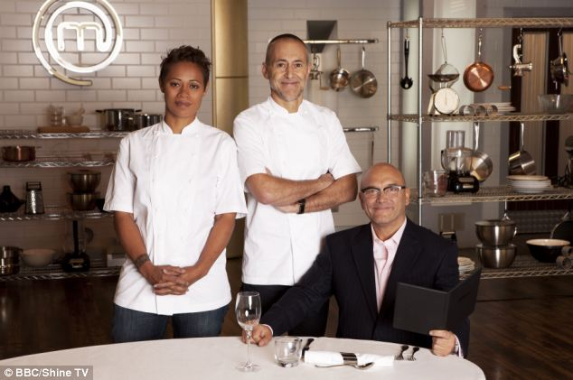 Wareing will replace Roux Jnr (centre) and join Monica Galetti and Gregg Wallace on the show