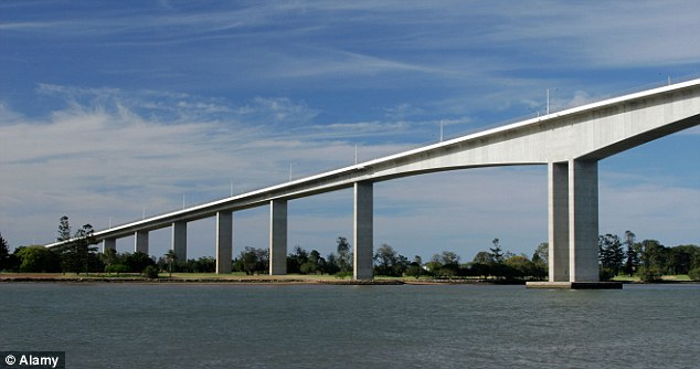 Mr Jarvis frequently drives across the Gateway Bridge, pictured, between Brisbane and Noosa