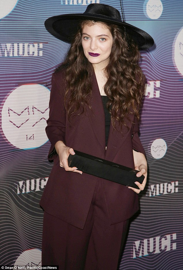 More awards! Lorde took home the trophy for International Video of the Year at the Canadian MuchMusic Video Awards in Toronto on Sunday
