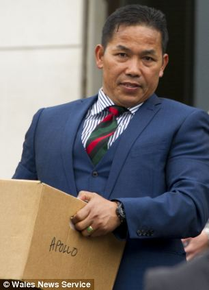 Sergeant Major Harry Gurung killed a married couple when he had a sneezing fit as he was overtaking them on his way to his army barracks, a court has heard