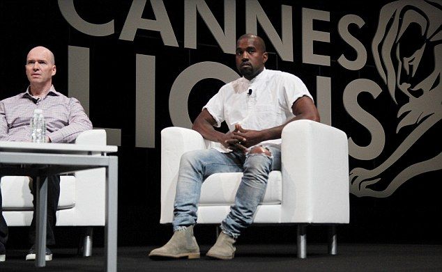 In conversation: Kanye's touching admission comes as he was in conversation with Steve Stout and Ben Horowitz at a talk entitled Translation: Technology, Culture, and Consumer Adoption: Learning to Read the Cultural Landscape
