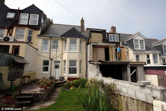 Works: Mrs Reynolds last year objected to the plans, which were put into action in January