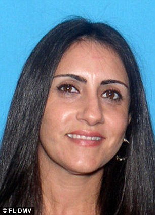 Body found: Police found an SUV belonging to Raquel Calderin, 42, who hasn't been seen since September 2012. Human remains were discovered inside the car
