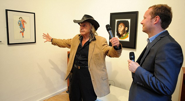 Playing to the gallery: An expressive Trevillion explains some of his work