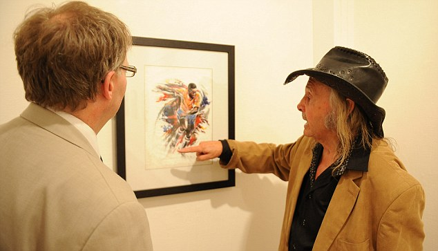 And here's how I did it: Trevillion gives an insight into his genius as he talks about the Pele picture