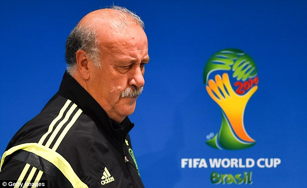 Choices: Vicente Del Bosque must be considering changing the way his team play