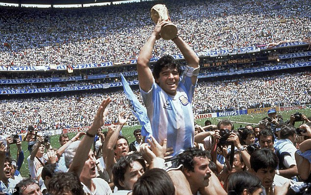 Hero to zero: Maradona won the 1986 World Cup but could not get into the 2014 edition on Sunday