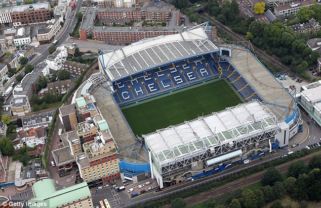 Familiar: Chelsea have spent their entire history at Stamford Bridge and the new plans could see them stay
