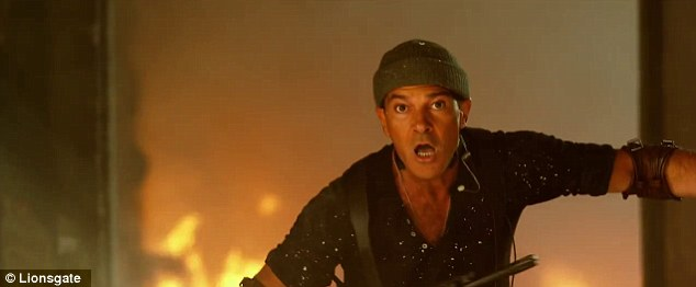 He's on fire! Antonio Banderas, 53, is also making his first appearance in the franchise