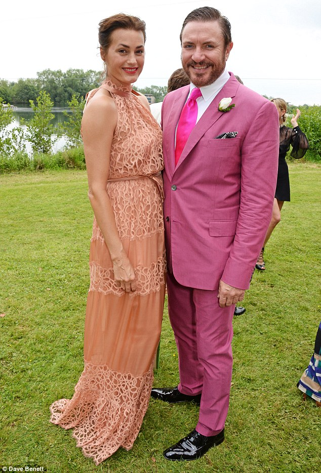 Best man: Yasmin and Simon Le Bon attended with the Duran Duran frontman also performing