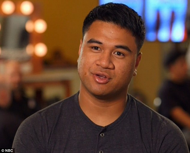 Morale booster: US Army soldier Paul Ieti belted out Stay by Rihanna and advanced