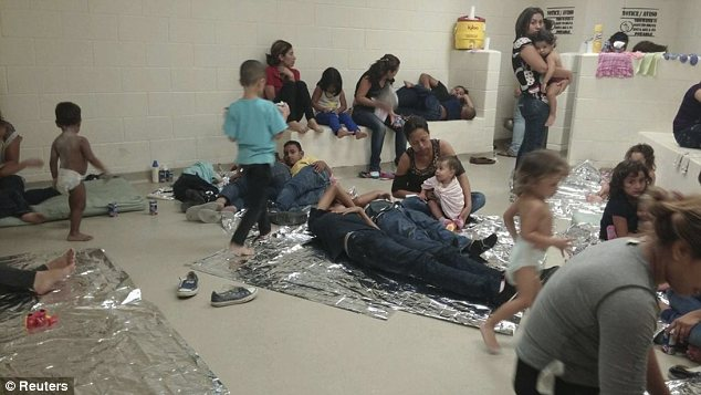 Waiting: Illegal immigrant children are held in Texas, Arizona and Oklahoma being moved to shelters