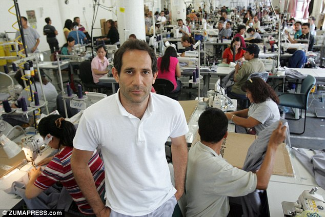 Ousted millionaire: Dov Charney, 45, has been fired as president and CEO of American Apparel for cause amid allegations of misconduct