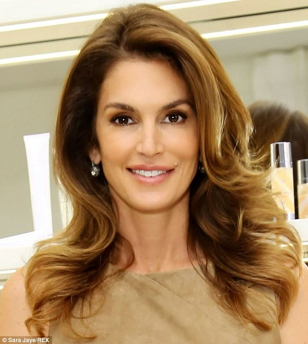 New book: Cindy Crawford (pictured) will release a 'hybrid' photo book next Fall, to mark the ascent of her 50th birthday