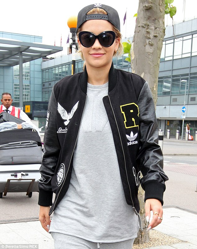 Getting the London look! Rita Ora was well and truly back to being a laid-back Londoner as she jetted into Heathrow Airport on Thursday morning after her long transatlantic flight
