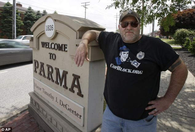 The reformed 'hell-raiser' has admitted that he has animosity toward cops