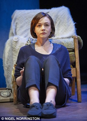 Inspired: The tension between Carey Mulligan (pictured) and Bill Nighy highlights their contrasts