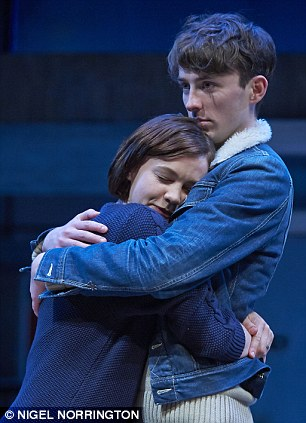 Inspired: The tension between Carey Mulligan (pictured with Matthew Beard) and Bill Nighy highlights their contrasts