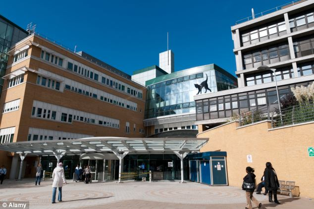 Woronyj worked as a printer until he died of a heart attack at Whittington hospital (pictured) last year