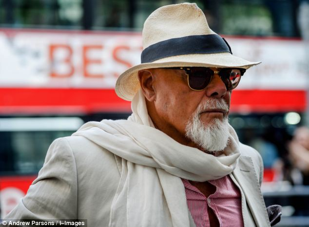 The former pop star, who appeared under his real name Paul Gadd, is charged with eight sex offences against girls aged under 16 in the late 1970s and early 1980s