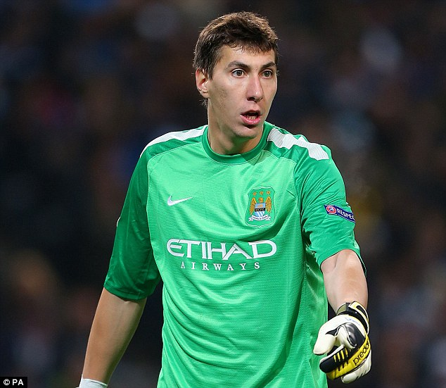 Arrival: Costel Pantilimon has joined the club on a free transfer from Manchester City