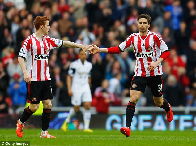 Upheaval: Jack Colback and Fabio Borini are two players to have left the club this summer